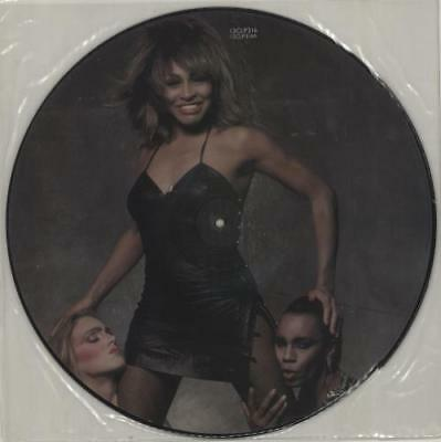 "Let's Stay Together Tina Turner UK 12"" vinyl picture disc record 12CLP316"