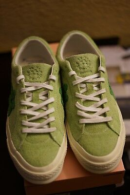 ee6bc35f3b77 CONVERSE ONE STAR x GOLF LE FLEUR TYLER THE CREATOR 160327C Green Men s 9