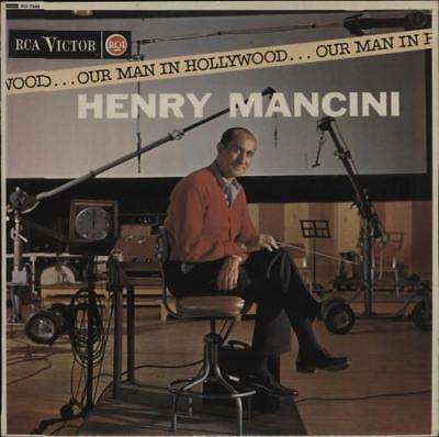 Henry Mancini Our Man In Hollywood UK vinyl LP album record RD-7549 RCA VICTOR