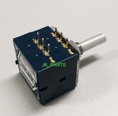 ORIGINAL & Brand New ALPS RK27 27 Type Dual 10K 10KA X 2 Potentiometer US Seller