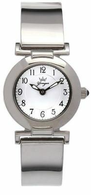Yonger & Bresson Women's DMC 1481/02 Round Stainless Steel White Dial Watch