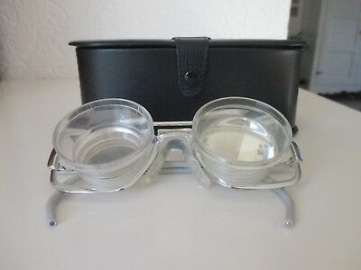 ZEISS Lupenbrille mit Etui 7021 48-18 OBO cyl + 5,5 Lupen-Brille