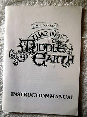 60921 Instruction Booklet - War In Middle Earth - Commodore Amiga ()