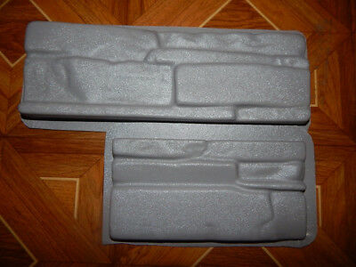 Plastic Molds for Concrete Plaster Wall Stone Tiles for Garden Decoration Wall