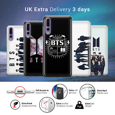BTS Bangtan Boys Kpop Band Group Music Phone Case Cover for Huawei
