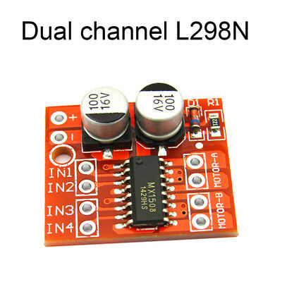 Dual Channel DC Motor Driver Mini Module PWM Speed Control Beyond L qV