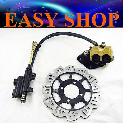 Hydraulic Rear Brake System Caliper Disc 110cc 125cc Thumpstar DIRT PIT PRO BIKE