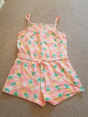 Girls Age 3-4 Years Short Playsuit
