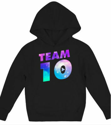 Galaxy Team 10- Jake Paul - Kids Hoodies XS-XL