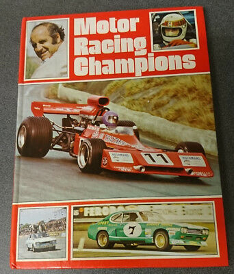 Motor Racing Championships Annual Purnell 1974 in very good condition