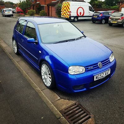 Mk4 Golf R32 3.2 V6 4Wd 250Bhp Rare Blue Black Leather Vgc No Issues Awesome Car