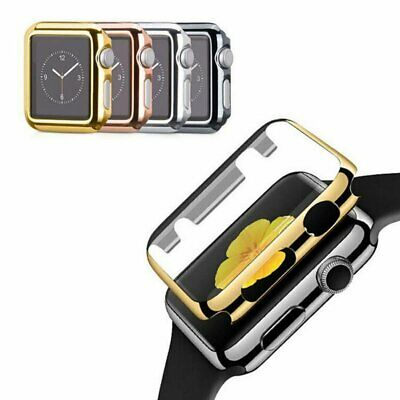 98dd21b3f0da50 Ultra-thin Gold Plated Plating Protective Case Cover For Apple Watch iWatch  US