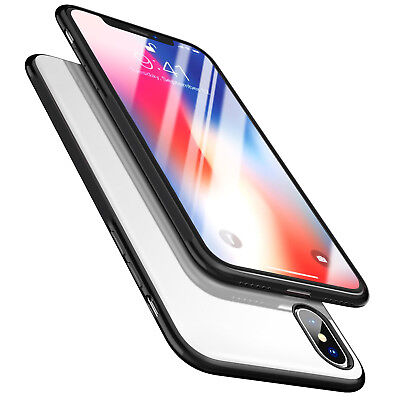 [2018 Released] New Ultra-Thin Crystal Clear Hybrid Armor Case For iPhone X & XS