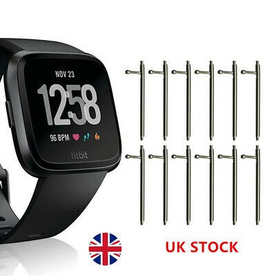 10Pc 23mm x 1.5mm Quick Release Spring Bar Watch Band Pins For Fitbit Versa