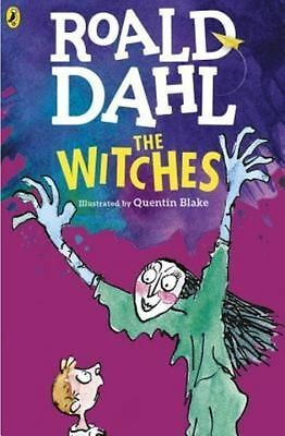 The WITCHES by Roald Dahl (Illustrated by Quentin Blake) Paperback 2016 Free P&P