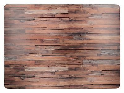 Creative Tops Wood Cabin Pack Of 4 Large Premium Placemats