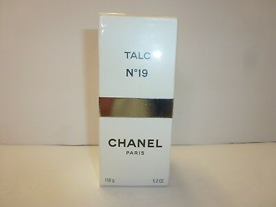 CHANEL N°19 No 19 150g Talc Talcum Powder Perfumed Body Powder 5.2 oz.