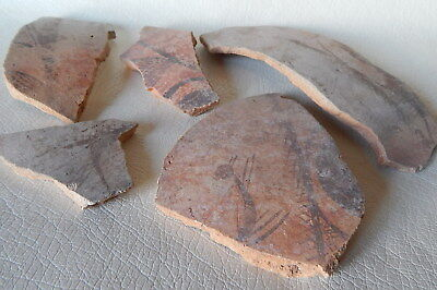 RARE Neolithic Pottery Shards. Trypillian culture.