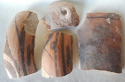 Neolithic Pottery Shards #2. Trypillian culture.
