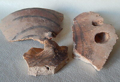 Neolithic Pottery Shards #6. Trypillian culture.