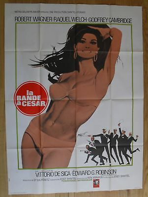 "BIGGEST BUNDLE OF THEM ALL Raquel Welch original french movie poster 63""x47"" '68"