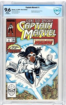 Captain Marvel #1 CBCS 9.6 Moonstone, Guardsman, James Rhodes