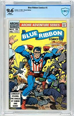 Blue Ribbon Comics #5 CBCS 9.6* Jack Kirby 1984 Archie Comics