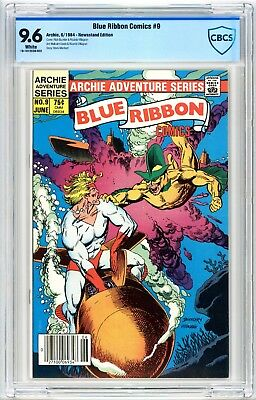 Blue Ribbon Comics #9 CBCS 9.6 1984 Archie Comics