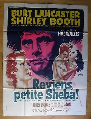 """COME BACK LITTLE SHEBA Shirley Booth original french movie poster 63""""x47"""" '53"""