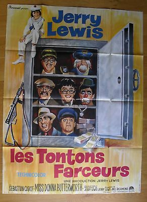 "FAMILY JEWELS Jerry Lewis original french movie poster 63""x47"" '65"