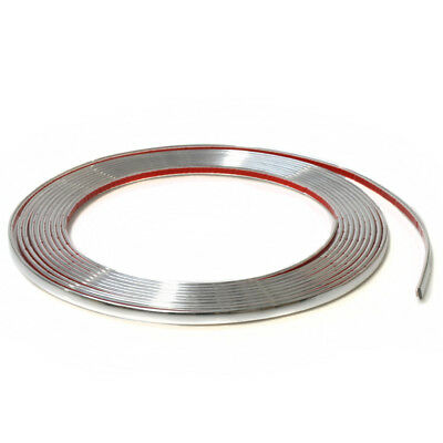 5mm Chrome Car Styling Tuning Moulding Strip Trim Self Adhesive Tape 5 metre