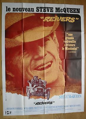 "REIVERS Steve McQueen Sharon Farrell original french movie poster 63""x47"" '69"