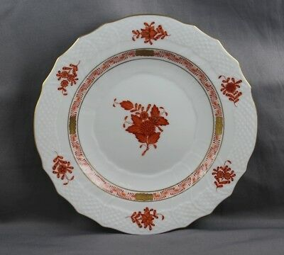 Herend Chinese Bouquet Rust Salad Plate 1518 Sold Individually