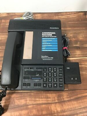 PhoneMate Vintage Telephone and Answering Machine Series 7050 Fast Ship