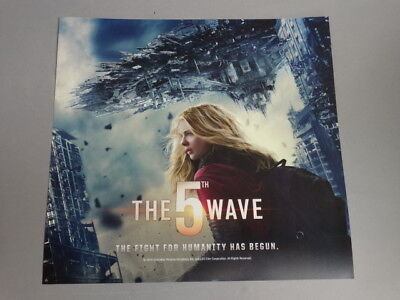 The 5th Wave Advertising Poster From Redbox 1000 Picclick