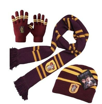 Harry Potter Scarf, Touch Screen Gloves, Hat