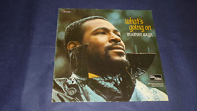 Marvin Gaye - What's Going On - Tamla Motown 1 C 062-92 585 Germany 1971 1st pre