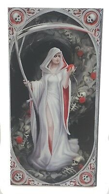 Anne Stokes LIFE BLOOD Designer Decorative Art Tile Fantasy DEATH REAPER