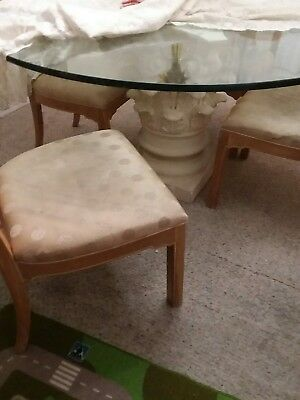Gorgeous Dining Room Table and 6 Chairs Set with China Cabinet