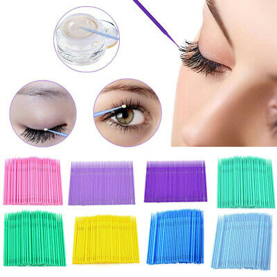 Disposable Cotton Swabs Applicator Makeup Micro Brush Swab Health Cleaning Tool