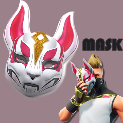Fortnite Unisex Kids Adult Mask Drift Fortnite Skin Mask Halloween Costume Gift