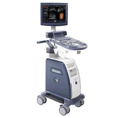 "15"" GE Voluson P8 Ultrasound System - M-Mode Angio Advanced 3D/4D XTD NO Probe"