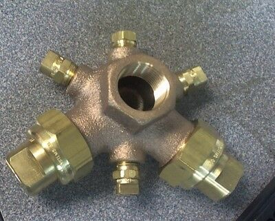 TeeJet BoomJet Brass Boomless Nozzle for Broadcast Spraying 5880-3/4-2TOC20