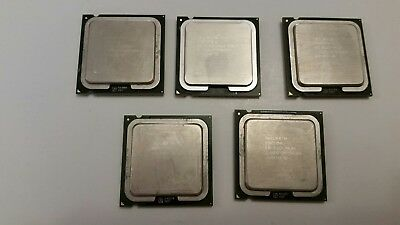 Lot of 5 Intel Pentium and Pentium D Processors - 561 805 925 930 - Gauranteed