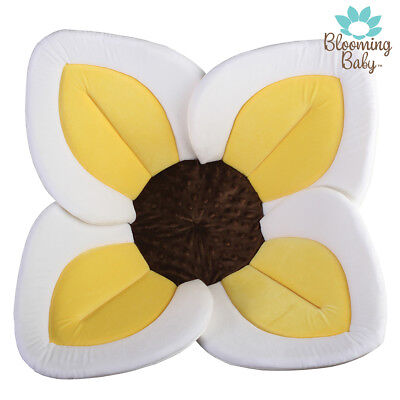 Blooming Bath Lotus Baby Bath, Repackaged, Bathing Mat, Flower Bath, Yellow