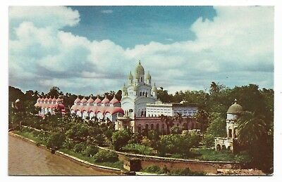 Dakshineswar Temple, Calcutta Postcard Unused 457J