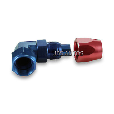 -8 AN 8 AN10 8 90 Degree Forged Fitting Adapter Swivel Hose JIC Cutter Style