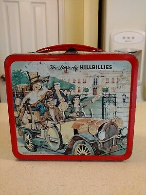Vintage Beverly Hillbillies Metal Lunchbox 1963, No Thermos