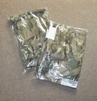 British Army Issued Mtp Combat Trousers X 2 - 75/88/104 Cadet Size - New,