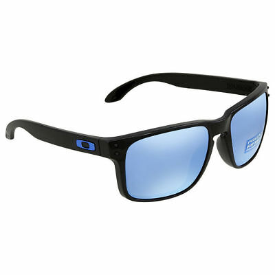 09e0d8c1fe ... usa oakley holbrook sunglasses oo9102 c1 polished black prizm deep  water polarized cf38f 02e0d